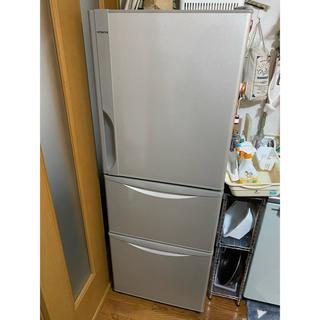 ヒタチ(日立)の奈良発 3ドア 冷凍冷蔵庫 265L 日立 R-27FV(T)(冷蔵庫)