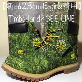 Timberland - 【超激レア‼️E-girlsモデル】23cm ティンバーランド×BEE LINE