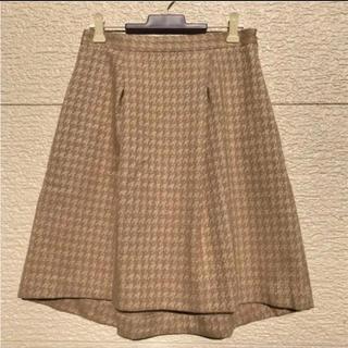 アンタイトル(UNTITLED)のUNTITLED アンタイトル  スカート ベージュ 2(ひざ丈スカート)