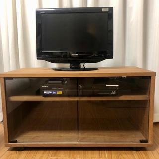 ムジルシリョウヒン(MUJI (無印良品))の無印良品 ウォールナット材 テレビ台(リビング収納)