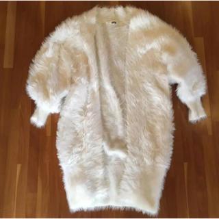 fur fur - FURFUR フェザーカーディガン