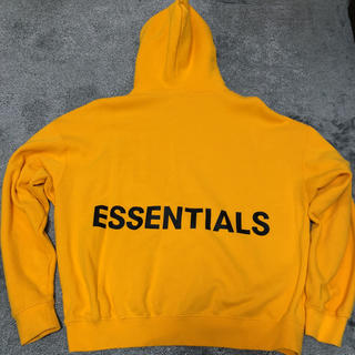 FEAR OF GOD - FOG ESSENTIALS パーカー  イエロー