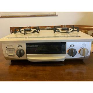 リンナイ(Rinnai)の【リンナイ】2口ガスコンロ(LP・プロパンガス用)(調理機器)