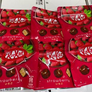 Nestle - キットカット ビッグリトル いちご 45g×6袋