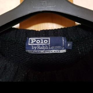 ラルフローレン(Ralph Lauren)のラルフローレン ブラック セーター(ニット/セーター)