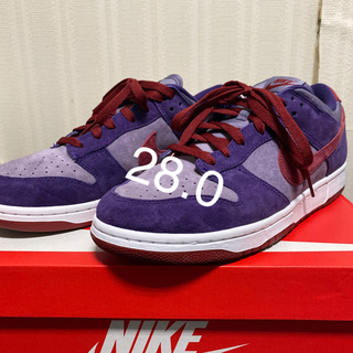 NIKE - nike  dunk low sp  プラム 28.0