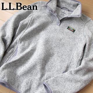 エルエルビーン(L.L.Bean)の超美品 XS L.L.bean エルエルビーン レディース 裏起毛プルオーバー(ブルゾン)