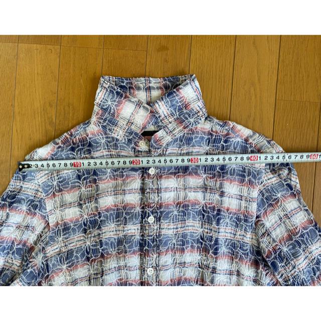 Ron Herman(ロンハーマン)のアナァキィ様専用刺繍アロハ調ネルシャツ S メンズのトップス(シャツ)の商品写真