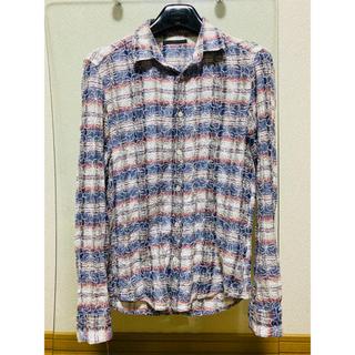 ロンハーマン(Ron Herman)のアナァキィ様専用刺繍アロハ調ネルシャツ S(シャツ)