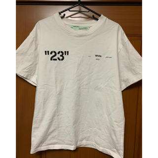 OFF-WHITE - dude9系ロゴ tシャツ