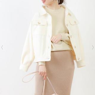 natural couture - ミドル丈ブルゾンCPO