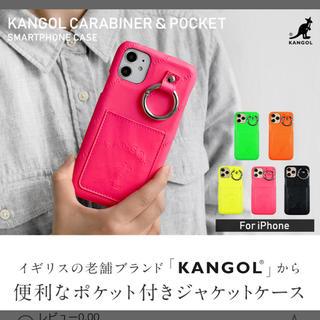 KANGOL - iPhone11ケース KANGOL