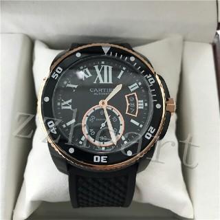 Cartier - Cartier 仕上カルティエ 自動巻きメンズ腕時計