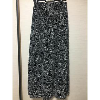 しまむら - 美品 レオパード/ロングスカート Mサイズ