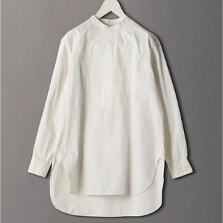BEAUTY&YOUTH UNITED ARROWS - 即完売◾️ROKU 6 BAND COLLAR SHIRTS ホワイト 38