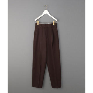 BEAUTY&YOUTH UNITED ARROWS - 6 ロク ROKU  KERSEY PANTS ワイドパンツ