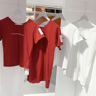 ロキエ(Lochie)のTreatrurself applepie Tシャツ(Tシャツ(半袖/袖なし))