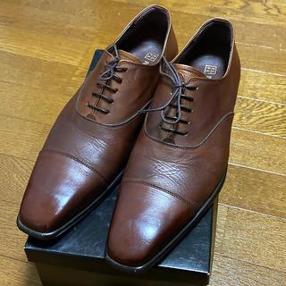 アオヤマ(青山)のP.S.F.A パーフェクトスーツファクトリー メンズ革靴 ブラウン(ドレス/ビジネス)