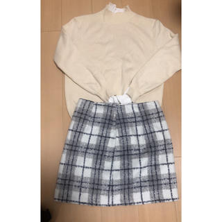 dholic - チェックタイトスカート
