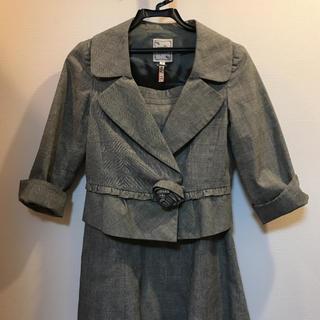 Nanette Lepore - ナネットレポー♡グレンチェック 綿麻 スーツ