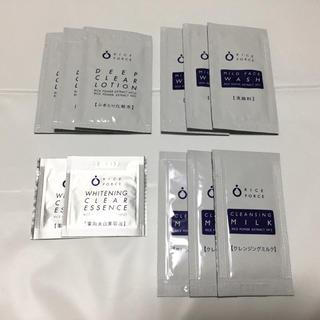 ライスフォース(ライスフォース)のライスフォース サンプル 11包 ディープクリアローション クレンジングミルク(サンプル/トライアルキット)