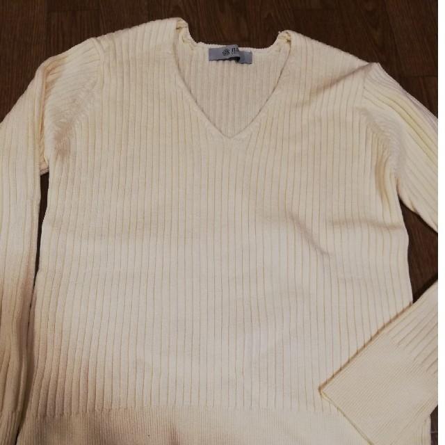 nano・universe(ナノユニバース)の新品未使用品★ナノ・ユニバース福袋 白ニット レディースのトップス(ニット/セーター)の商品写真