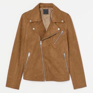 H&M - 新作&新品 H&M ライダースジャケット スエード素材 Mサイズ