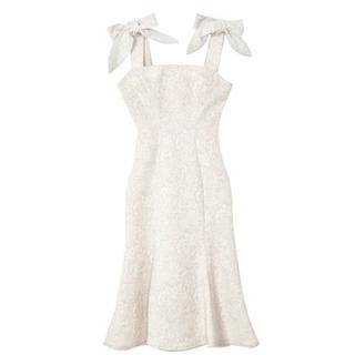 Mermaid Lace Midi Dress 【新品】herlipto