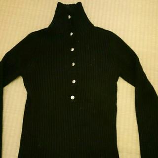 ビッキー(VICKY)のビッキー 春ニット セーター 黒(ニット/セーター)