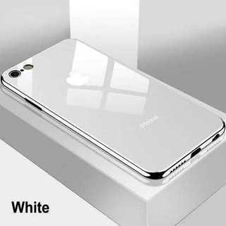 Apple - 白★鏡面 ミラーオシャレ ガラス iPhone7/8/X/11 カバー★