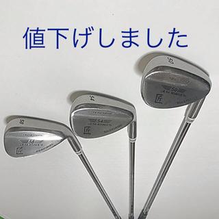 トウホウ(東邦)の地クラブ ウェッジゴルフクラブ TEAM TOHO 3本組み(クラブ)