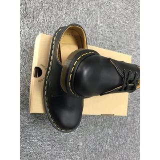 Dr.Martens - レディース UK4 Dr. Martens  革靴 レザーシューズ [黒]