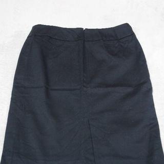 オゾック(OZOC)のリクルート用 黒スカート(ひざ丈スカート)