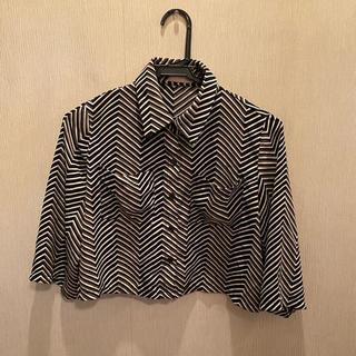 juemi ジュエミ ショートシフォンシャツ(シャツ/ブラウス(長袖/七分))