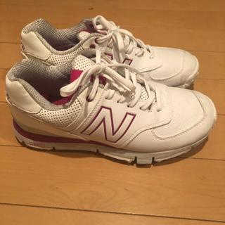 ニューバランス(New Balance)のaumiii n様ニューバランス24センチ ゴルフシューズ(シューズ)