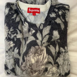 Supreme - Printed Floral Angora Sweater Supreme
