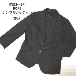 ROPEのテーラードジャケット黒
