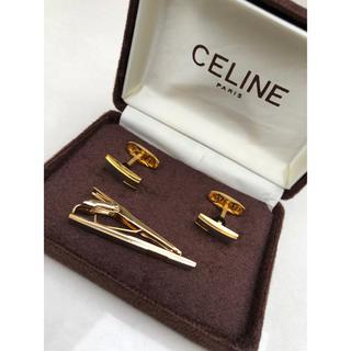 celine - セリーヌ(CELINE)  ネクタイピン&カフリンクス カフスセット