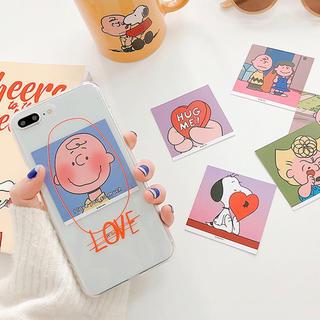 ザラ(ZARA)のスヌーピー iPhoneケース クリア 透明 かわいい レディース  韓国(iPhoneケース)