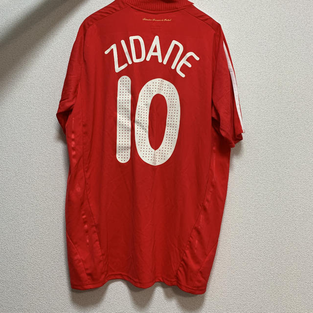 adidas(アディダス)のユニフォーム ジダン スポーツ/アウトドアのサッカー/フットサル(ウェア)の商品写真