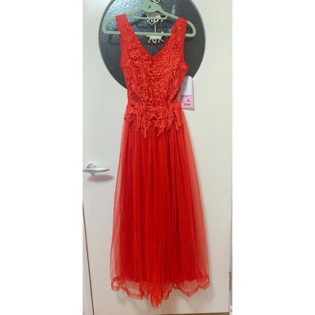 Andy(アンディ)のtika ロングドレス 新品 レディースのフォーマル/ドレス(ロングドレス)の商品写真