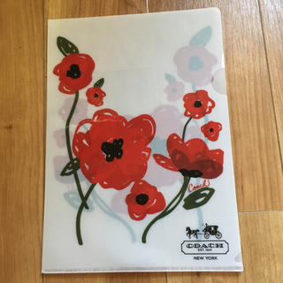 COACH - コーチ☆花柄クリアファイル 付録品