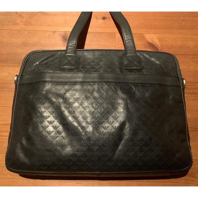Emporio Armani(エンポリオアルマーニ)のエンポリオアルマーニ ビジネスバッグ ネイビー メンズのバッグ(ビジネスバッグ)の商品写真