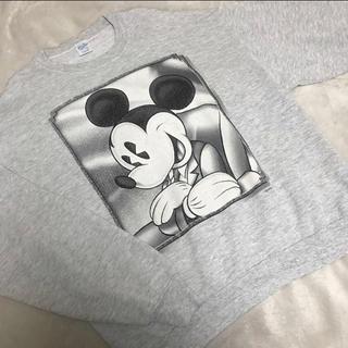 Disney - ◌⑅⃝♡⃝ mickey プリント スウェット ♡⃝⑅⃝◌