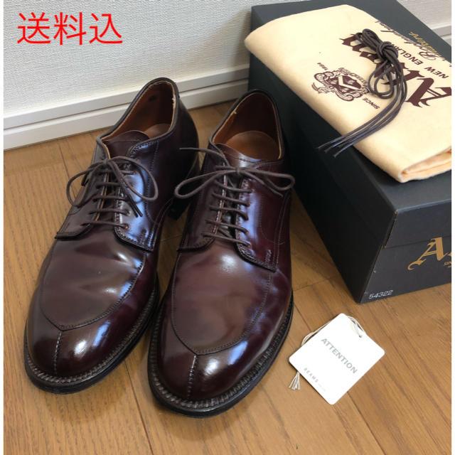Alden(オールデン)のオールデン Vチップ 7D モディファイド ALDEN 54321 メンズの靴/シューズ(ドレス/ビジネス)の商品写真