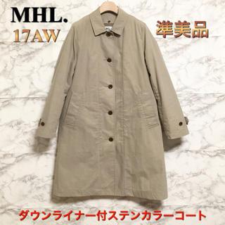 MARGARET HOWELL - 【17AW】【準美品】MHL. 「PROOFED COTTON NYLON」