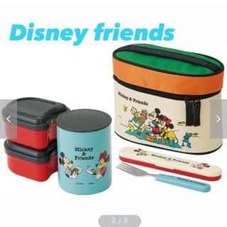 Disney - 【新品!】Disney 超軽量保温ジャー付きランチボックス