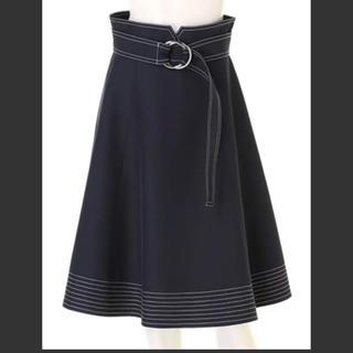 Apuweiser-riche - 配色ステッチスカート