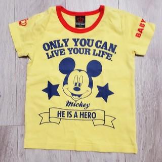 ベビードール(BABYDOLL)の美品ベビードール ディズニーミッキーTシャツ(Tシャツ/カットソー)