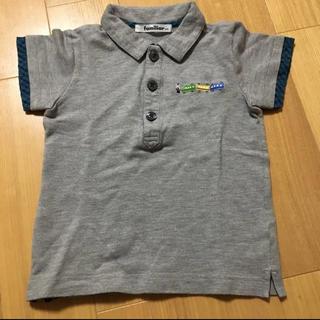 familiar - ファミリア 半袖ポロシャツ 100cm